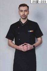 厨师服短袖-20夏-223